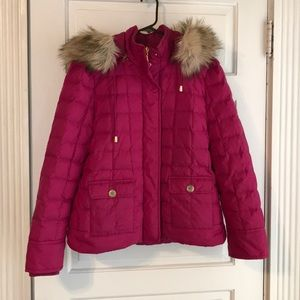 Juicy Couture Puffer Coat Size Large
